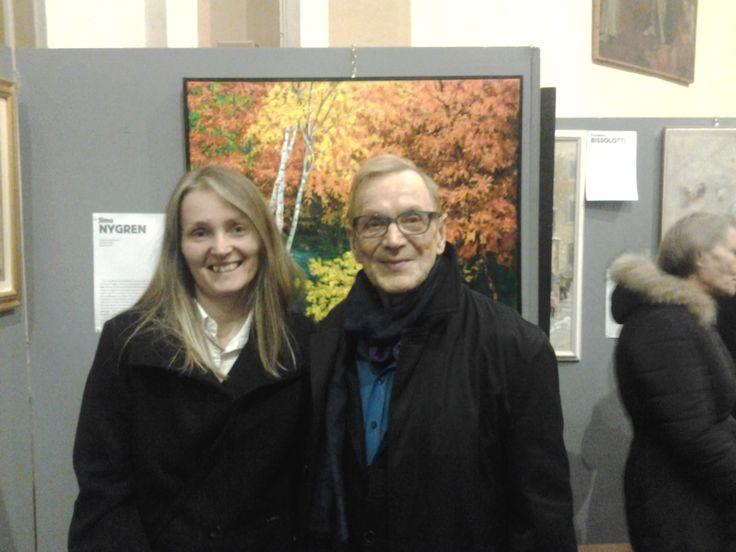 ....con Simo Nygren