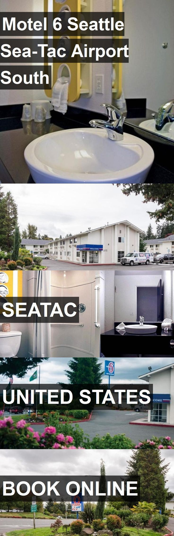 Hotel Motel 6 Seattle Sea-Tac Airport South in Seatac, United States. For more information, photos, reviews and best prices please follow the link. #UnitedStates #Seatac #travel #vacation #hotel