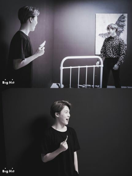BTS 2nd Full Album 'WINGS' Jacket Shooting - Jungkook and Jimin