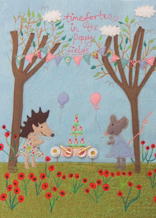 Time-for-Tea-in-the-Poppy-Fields-Laura-Rose-Textiles