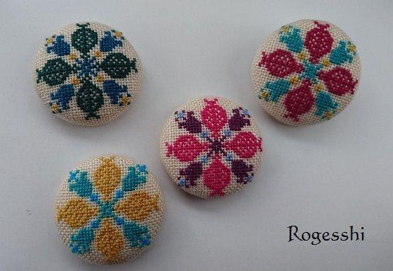 Rogesshi くるみボタン