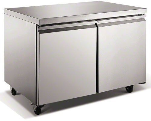 """48"""" Commercial Stainless Undercounter Under Counter Refrigerator Cooler TUC48R"""