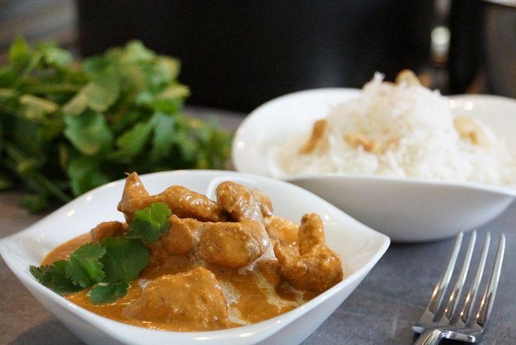 Recette du poulet indien butter chicken - cuisine indienne, je l'ai essayée c'est divin!