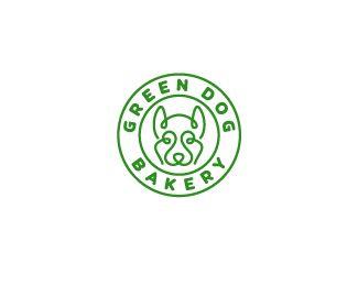 Green Dog logo design