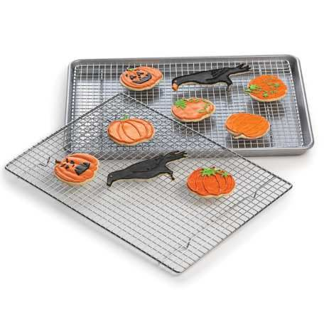 Half Sheet Cooling Racks - Set of 2|  Love, love, love!  Can't recommend highly enough!