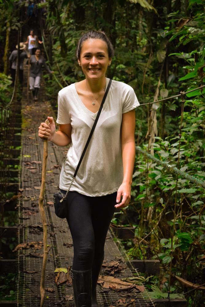 Walking Girl by julianacn_2008 Photo taken in the Ecuadorean Amazon  Travel