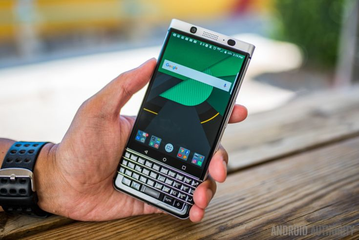 BlackBerry KEYone review: Getting stuff done
