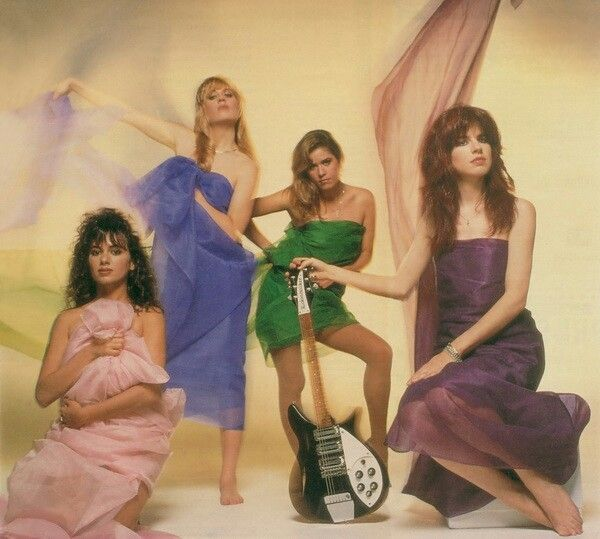 The bangles pictures 80s dress