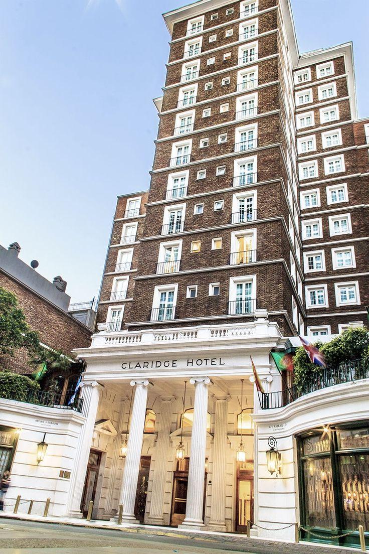 FIGURA SIMPLE. PUERTAS DE INGRESO Eurostars Claridge Hotel, Buenos Aires,