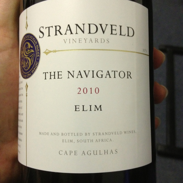 Great Southern French blend just released from Strandveld!