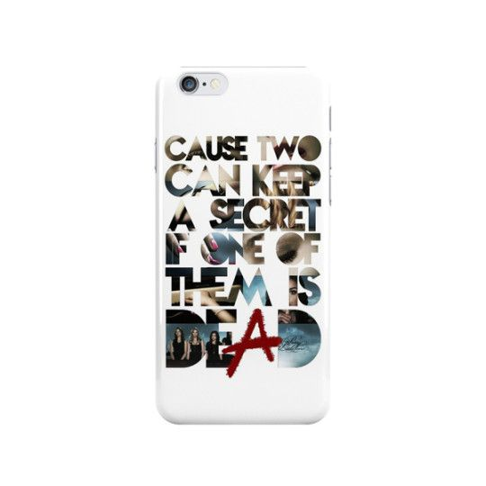 Pretty Little Liars Phone Case - Do you get goosebumps every time you hear the PLL theme song? Us too! This Pretty Little Liars Phone Case features lyrics from the song that we love to sing along with. Protect your phone with this stylish case and let everyone know that you're a little liar! - Found at myWebRoom.com