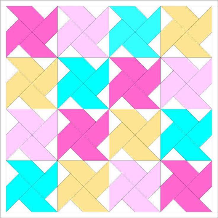 Classic Blocks: Fresh Fabric... the Whirlwind Quilt Block {tutorial} — SewCanShe | Free Daily Sewing Tutorials