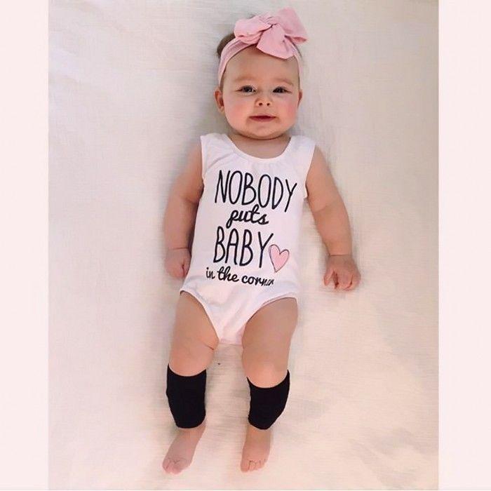 Cute Newborn Baby Boys Girls Romper Bodysuit Jumpsuit Playsuit Clothes Outfits