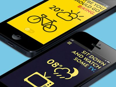 Weather App Concept by Marcel Bachran #weather #design