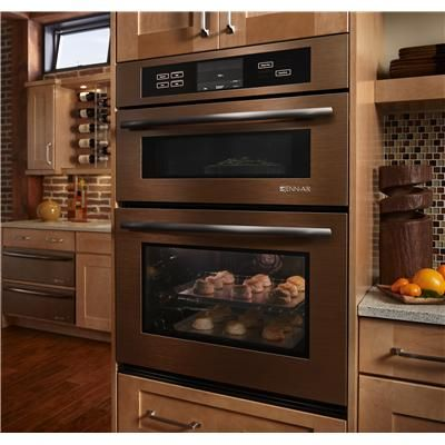 Jenn-Air® Combination Oven wall oven, no more bending to put and take things out of the oven
