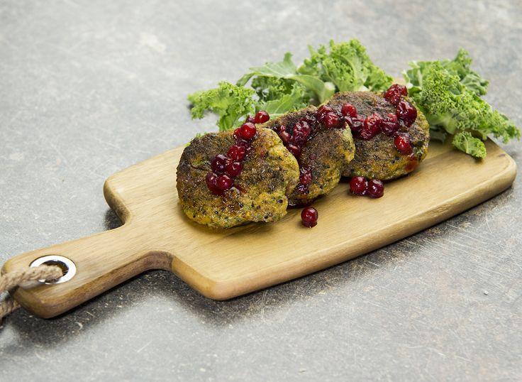 Sötpotatis- och grönkålsbiffat