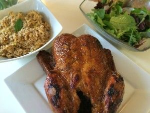 Perfectly roasted juicy glazed duck
