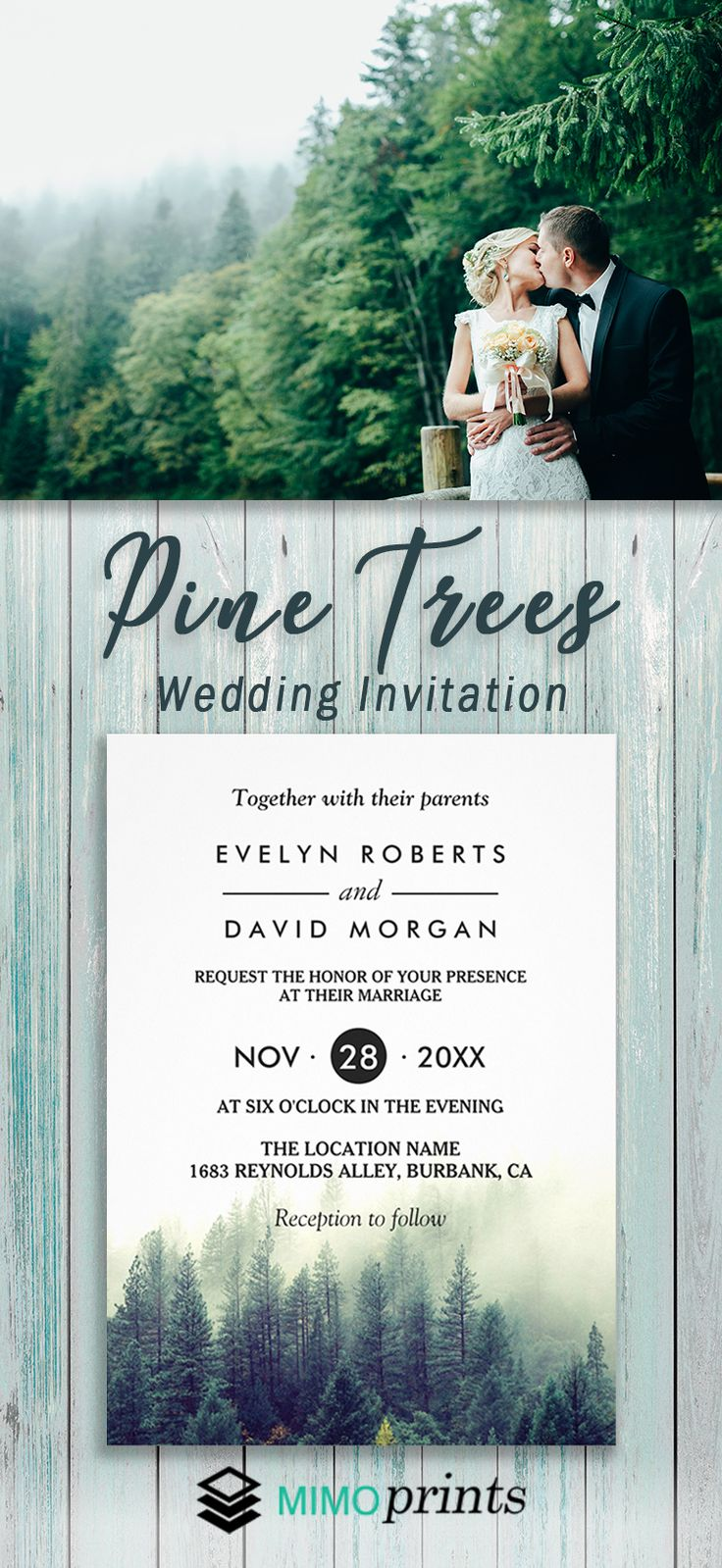 free wedding invitation templates country theme%0A This pretty and neutral wedding invitation gives a cozy style