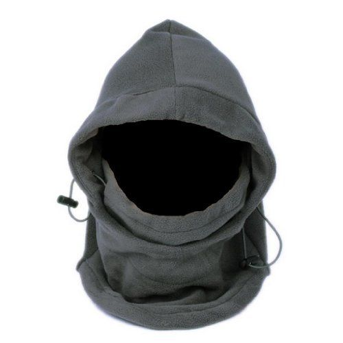 EOZY Unisex Adult Multi Use 6 in 1 Thermal Warm Fleece Balaclava Hood Full Face Mask Hat