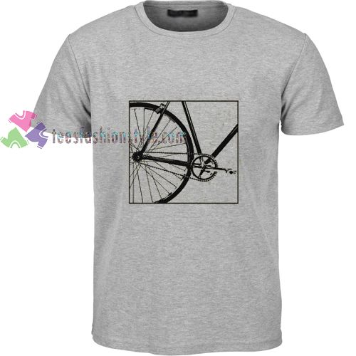 Fixie biker t shirt gift tees unisex adult cool tee shirts