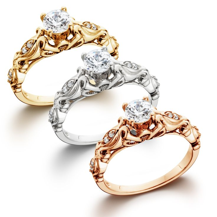 1-2CT-Diamond-Vintage-Engagement-Ring-in-14k-White-Yellow-or-Rose-Gold