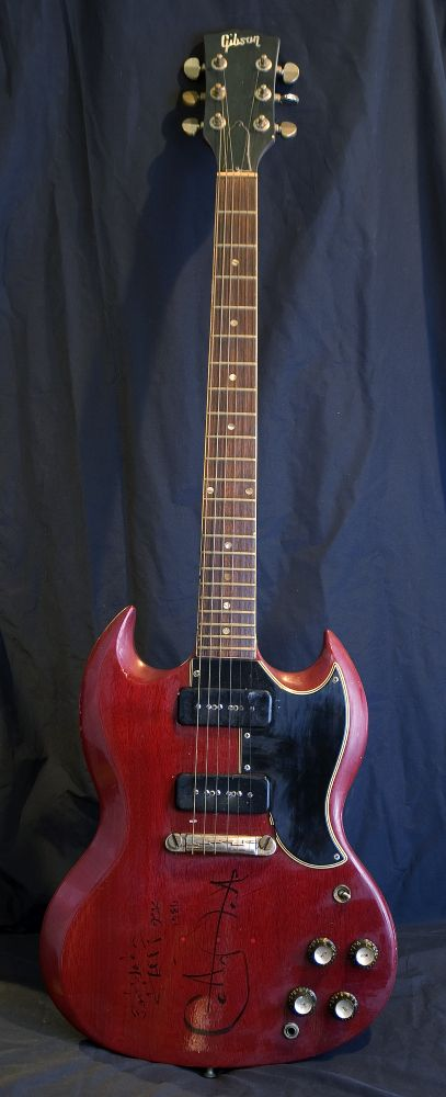 "Carlos Santana's ""Signed Gibson SG Special"" with P-90's ~ Heritage Cherry 