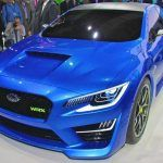 The body of Subaru wrx exterior looks fantastic with its bumper.
