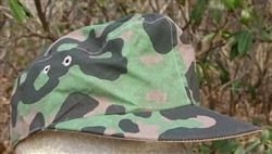 Waffen SS Early/Late War 3/4 Overprint/Planetree Camouflage M-42 Cap