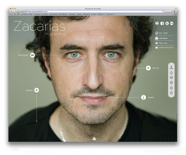 Lo Siento Studio, Barcelona – Website and identity for Zacarias a renowned music composer for films