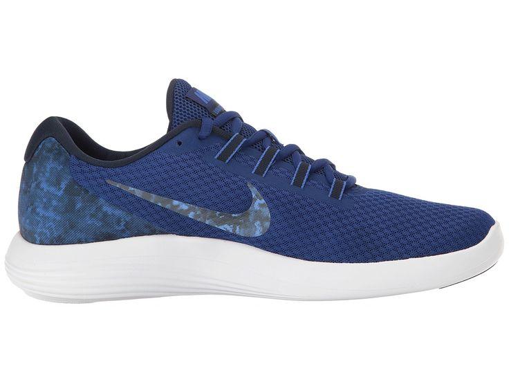 Nike Lunar Converge Premium Men's Shoes Deep Royal Blue/Obsidian/Medium Blue