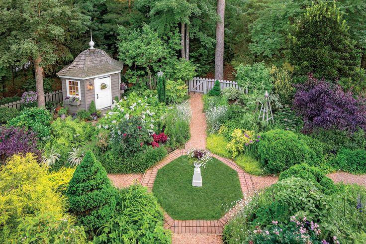 Virginia English Cottage Garden Gardens English Gardens