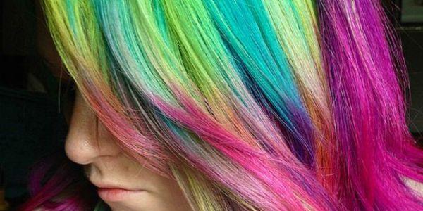 Αφιέρωμα στα πολύχρωμα μαλλιά!