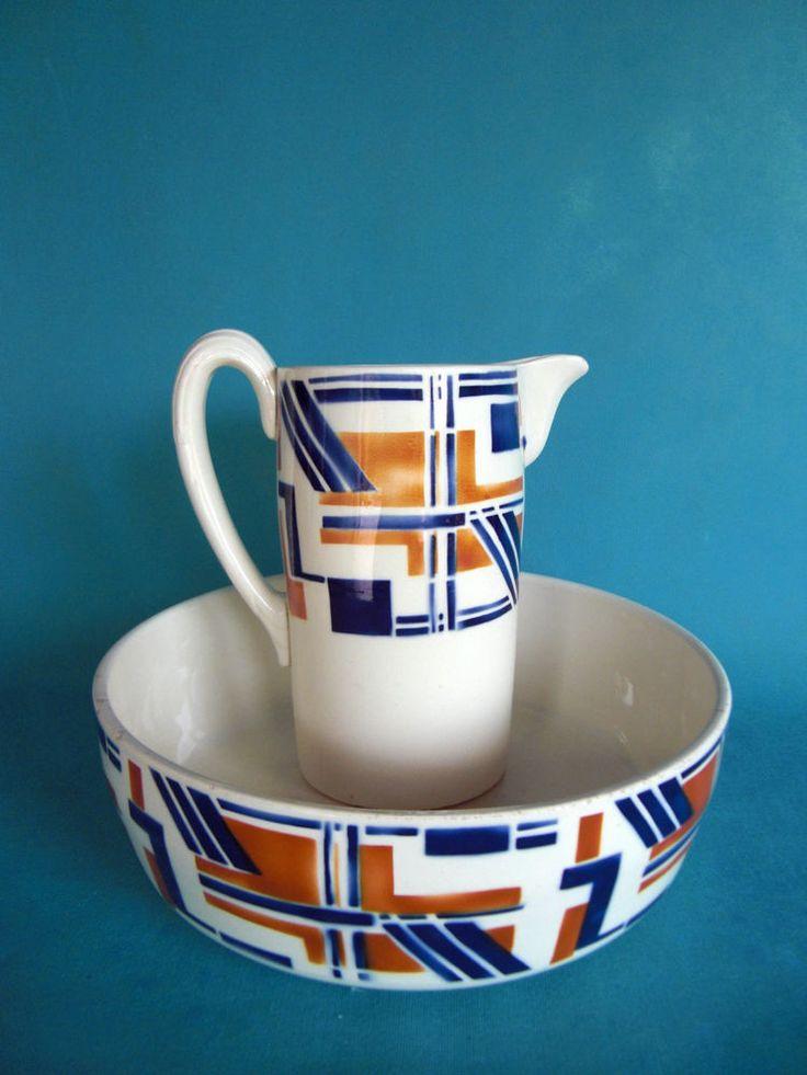 Les 64 meilleures images du tableau digoin toilette sur for Vasque ancienne en porcelaine