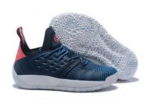 b47189f683c New Arrival adidas Harden Vol. 2 Deep Blue and Pink