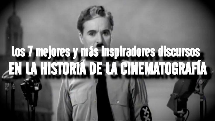 LOS 7 DISCURSOS MÁS INSPIRADORES DE LA HISTORIA CINEMATOGRÁFICA