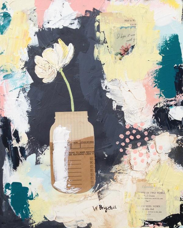 squash blossom art show - Wendy Brightbill