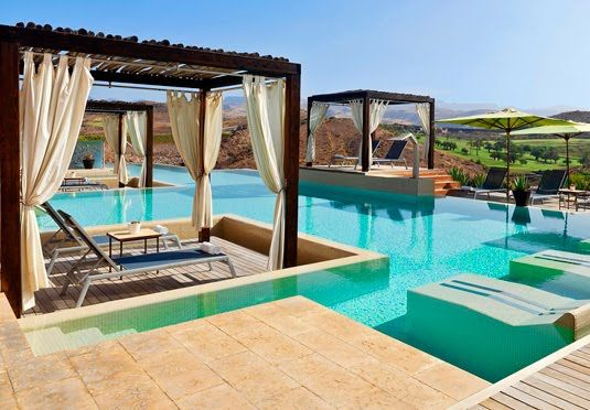 A five-star resort in Gran Canaria with a beach club and spa - includes half-board and all travel Tranquil 5* Gran Canaria holiday  Sheraton Salobre, Canary Islands   From  £614   £890   / per person for 7 nights  http://www.secretescapes.com/tranquil-5-star-gran-canaria-holiday-sheraton-salobre-canary-islands/sale