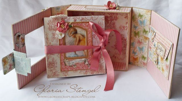G45 5x5 Album Box by Gloria Stengel