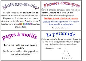 Classe de madame Bernice: Étude de mots (Les 5 au Quotidien)