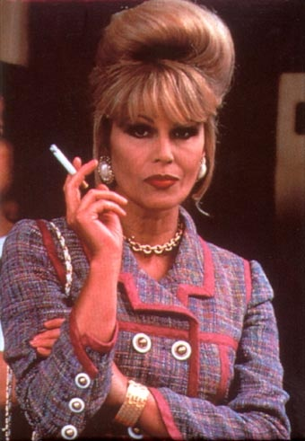 Patsy Stone - Joanna Lumley - I always wanted to be like Patsy but I'm afraid I'm the Edina