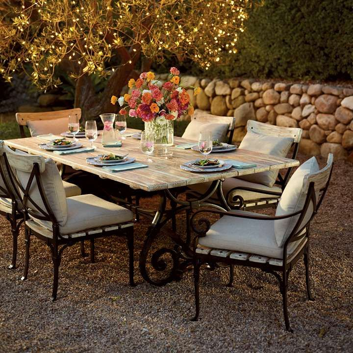 Commemorate French provincial travels with the Maison Jardin Dining  Collection. | Frontgate: Live Beautifully · Outdoor Dining FurnitureOutdoor  ... - 19 Best Garden Furniture Images On Pinterest Home Ideas, Decks And