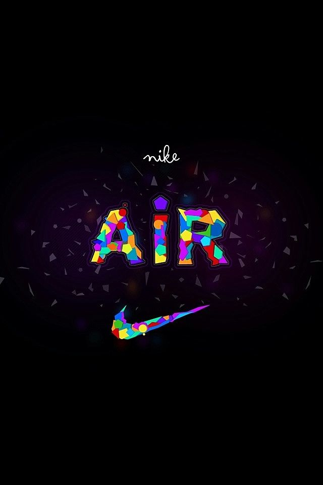 Nike Logo Colorful Air Swoosh Nike Pinterest Nike Wallpaper