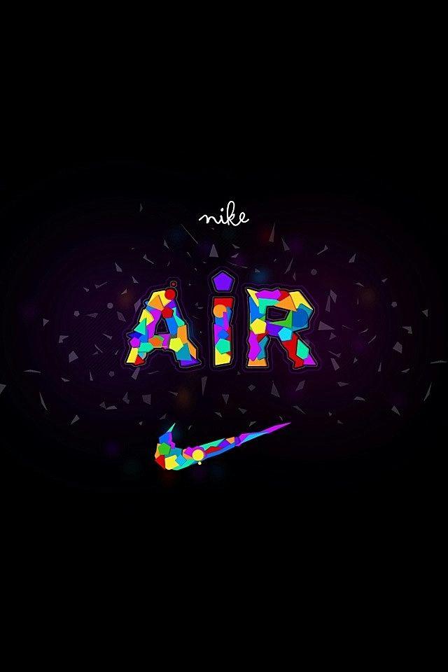Nike Logo Colorful Air Swoosh Nike Pinterest Nike Wallpaper Nike And Nike Logo