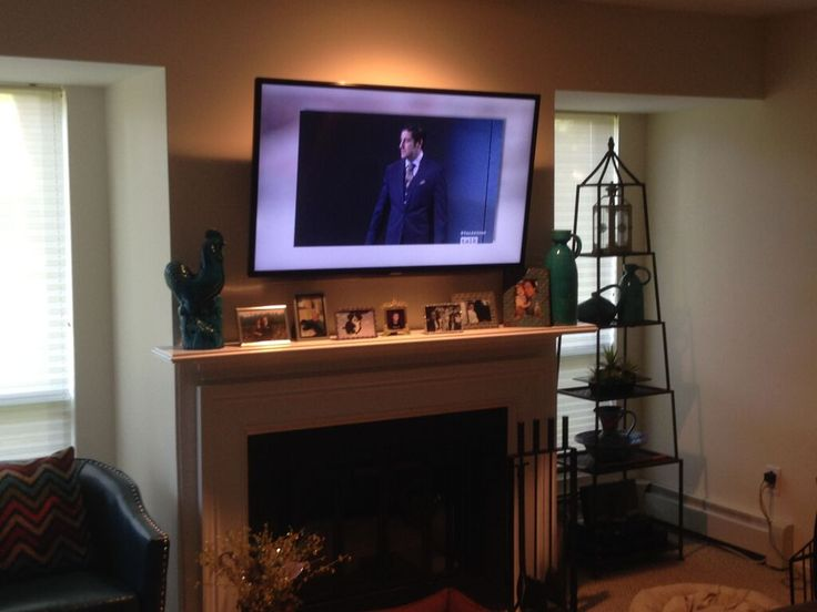 156 Best Images About Tv Above The Fireplace On Pinterest