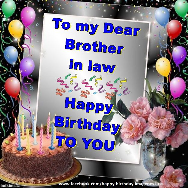 40 best Brother in law images on Pinterest Happy birthday