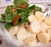 Recette - Coeur de palmier en salade, vinaigrette légère au citron - Notée 4.2/5 par les internautes