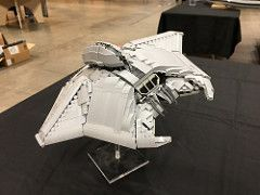 LEGO ID4 Independence Day fighter - BrickWorld Chicago 2017 | by aaron.fiskum