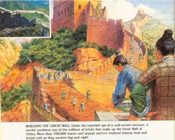 the history of the building of the great wall of china Great wall chronology presents the timeline of great wall of china from spring and autumn (770 - 476bc) to ming dynasty (1368 - 1644) with location, length and building period in different dynasties.
