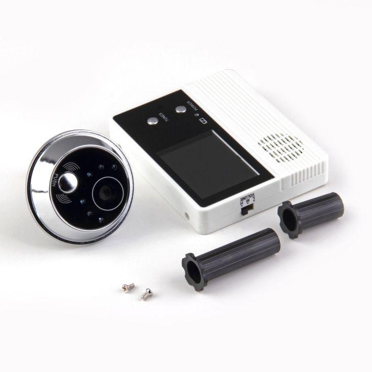 """2.4 """"TFT Lcd Cámara de Vídeo Teléfono de La Puerta Digital Visor de ojos, portero automático monitor de Altavoz de intercomunicación Timbre Seguridad Para El Hogar"""