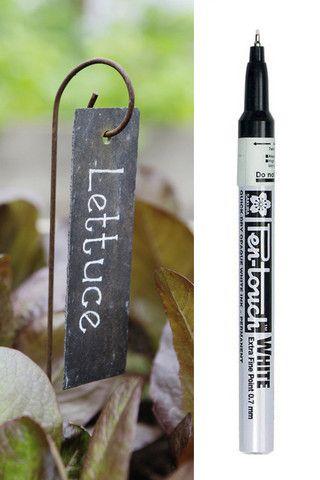 Plant Labels & White Marker set – Plant Belles